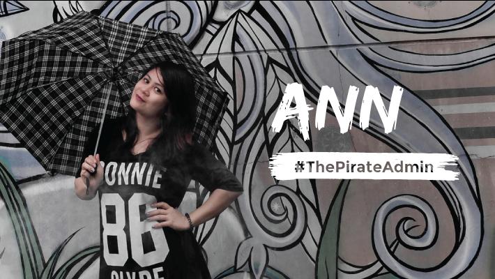 Ann - The Pirate Admin